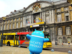 You're going to the Tour de France 2012 ? Alcatel One Touch shows you around!
