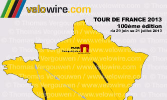Tour de France 2013: rumours on the race course and stage cities!