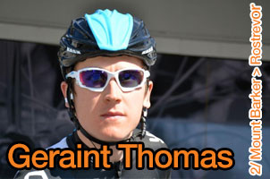 Geraint Thomas wins the 2nd stage of the Tour Down Under, disturbed by a crash