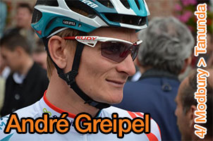 André Greipel beats records: 13th stage victory in the Tour Down Under!