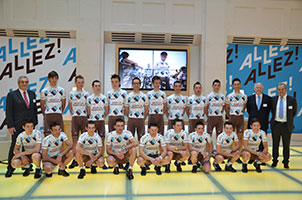 Team presentation AG2R LA MONDIALE 2013, everything for victories