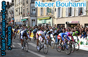 Paris-Nice: a sprint victory for the Champion of France, Nacer Bouhanni, in Nemours