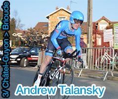 Yet another stage victory and yellow jersey coup in Paris-Nice 2013 : Andrew Talansky takes it all in Brioude