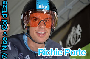 Paris-Nice 2013: Richie Porte stronger than everyone else on the Col d'Eze!