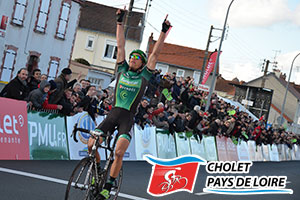Damien Gaudin takes the victory in Cholet Pays de Loire and dedicates it!