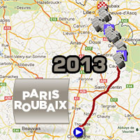 Paris-Roubaix 2013: its race route, its cobble stone zones and the other details of the Hell of the North