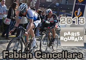 Fabian Cancellara takes his 3rd victory of Paris-Roubaix in its 111th edition!