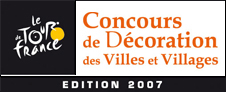 The results of the decoration contest of the cities and towns of the Tour de France 2007 is now known!