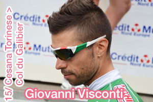 Giro d'Italia 2013: Giovanni Visconti solo to victory in the snow on the Galibier - summary