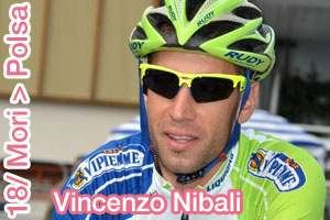 Vincenzo Nibali shows who's the leader in the cronoscalata of the Giro d'Italia 2013