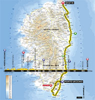 The official profiles and maps of the 21 stages of the Tour de France 2013