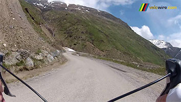 The state of the Col de Sarenne in video