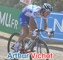 Arthur Vichot (FDJ) will wear blue-white-red this year as the new French Champion!