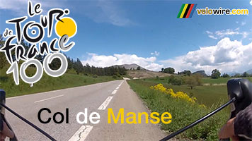 Tomorrow the Col de Manse will be climbed in the final part of the Tour stage - discover it in our video!