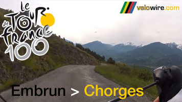 The Embrun - Chorges time trial race route in video!
