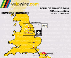 Tour de France 2014: the rumours about the race route and the stages!