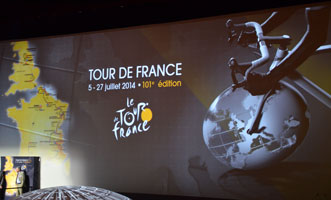 Tour de France 2014, de l'originalit� dans un contexte international