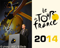Looking back at the 2014 Tour de France presentation
