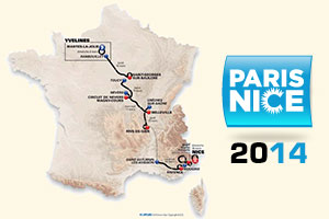 The Paris-Nice 2014 race route has officially been announced: no time trial