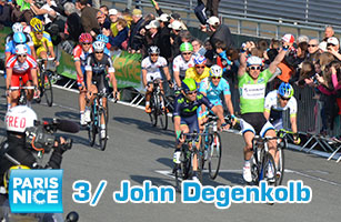 The 3rd one is the right one for John Degenkolb in Paris-Nice 2014 !