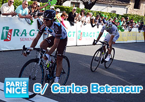 Carlos Betancur goes double for the 6th stage of Paris-Nice 2014