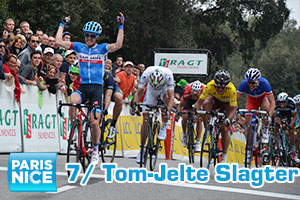 Yet another stage victory for Tom-Jelte Slagter in Paris-Nice 2014