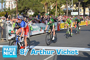 Arthur Vichot shining under the sun in Nice, final victory for Carlos Betancur