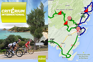 The Critérium International 2014 race route on Google Maps/Google Earth, profiles and itineraries