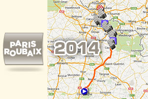 Paris-Roubaix 2014: its race route, its cobble stone zones and the other details of the Hell of the North