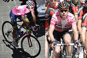 A summary of the first week of the Tour of Italy 2014