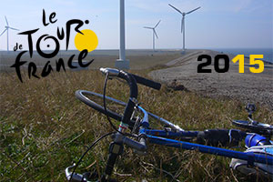 The Tour de France via Neeltje Jans and Antwerp in 2015!