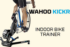 Product test: the Wahoo KICKR, an interactive hometrainer via smartphone or tablet