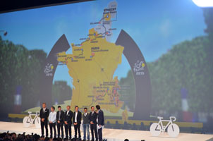 The Tour de France 2015 race route presented: a particular profile for the Grande Boucle