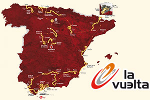 The Vuelta a Espa&ntildea celebrates its 80th anniversary in 2015 with yet another difficult race route