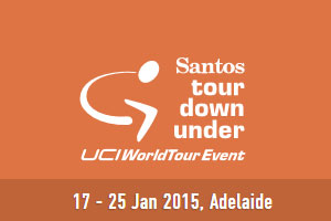 The participating riders in the Santos Tour Down Under 2015 and their numbers