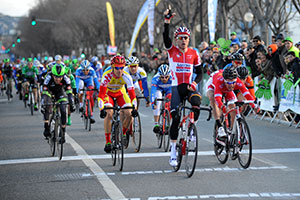 Pim Ligthart wins the Grand Prix La Marseillaise 2015 in a sprint