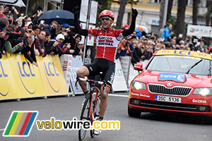 Tony Gallopin goes double by winning the stage in Nice in Paris-Nice 2015!