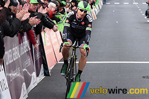 Pierrick Fédrigo holds on till the finish in Cholet Pays de Loire 2015
