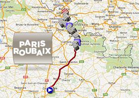 ParisRoubaix 2015 its race route its cobble stones sections and