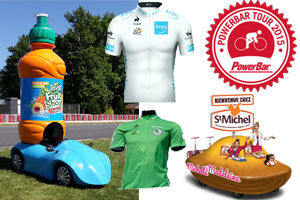 News from the sponsors of the Tour de France 2015