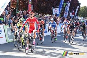 Grand Prix d'Isbergues 2015: Nacer Bouhanni winner and new leader of the Coupe de France PMU!
