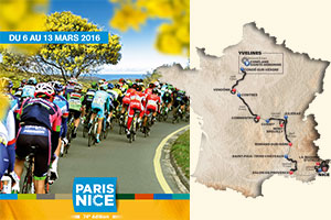 The Paris-Nice 2016 race route announced: mountaineous and original!