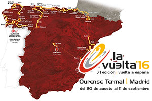 The Tour of Spain Espagne 2016 race route announced: mountaineous with a visit to France!