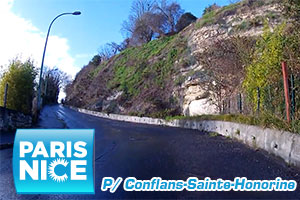 A video preview of the Paris-Nice 2016 prologue's race route