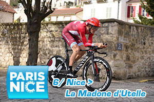 Ilnur Zakarin wins Paris-Nice 2016's queen stage, yellow for Geraint Thomas