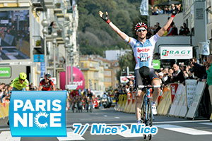 Paris-Nice 2016: Contador lightens up the 7th stage, victory for Wellens, the general for Thomas