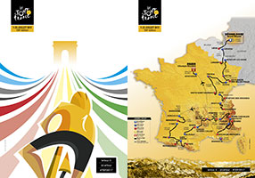 The Tour de France 2017 race route presented: twice the Alps, the intermediate mountains honored!