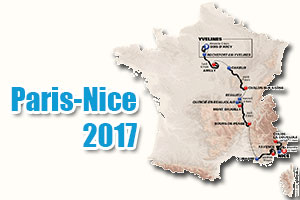 The Paris-Nice 2017 race route presented: higher than ever before!