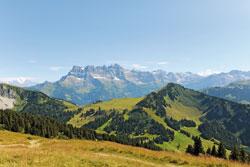 La montagne autour de Châtel - © JF Vuarand, source : Châtel Tourisme