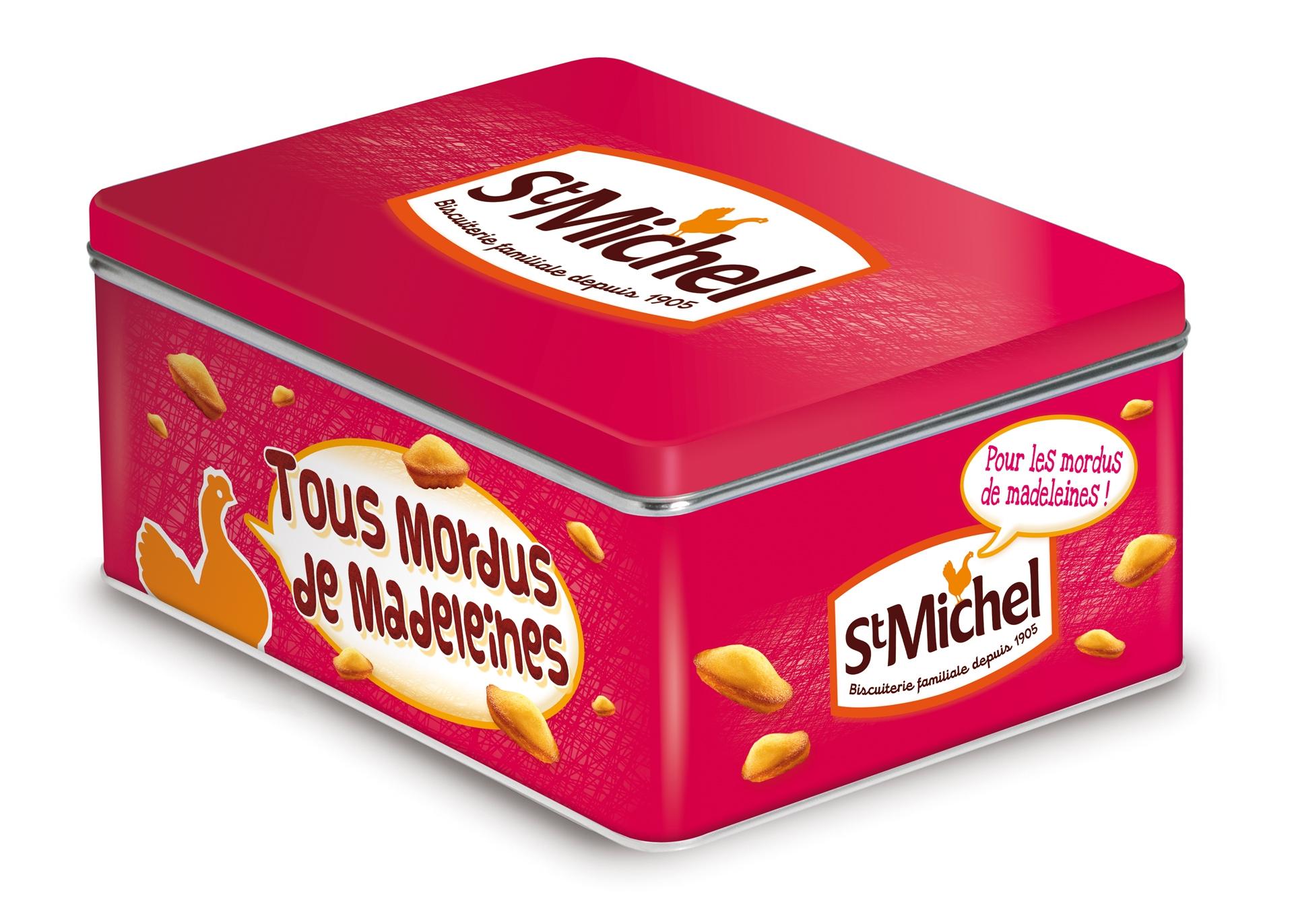 La jolie boîte garnie de nouveautés St Michel